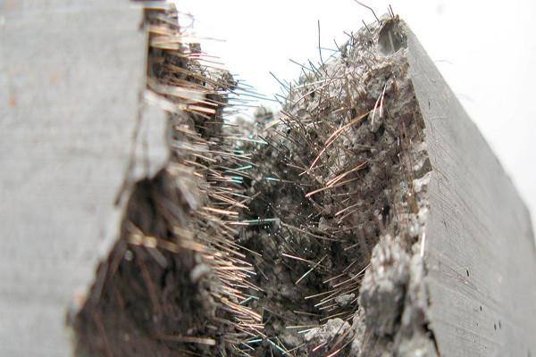 بتن با مصالح فولادی