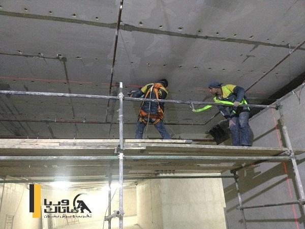 روش مقاوم سازی سقف دال بتنی