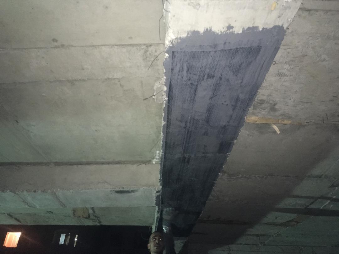مقاوم سازی سقف با frp